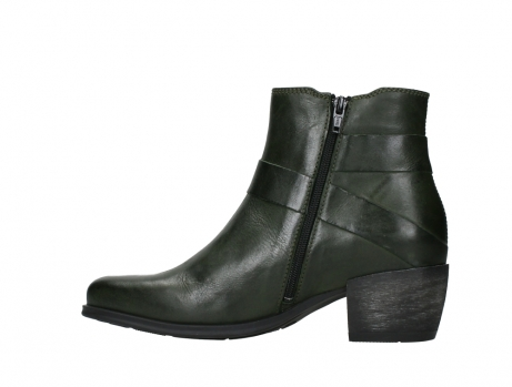 wolky ankle boots 02875 silio 30730 forest green leather_14