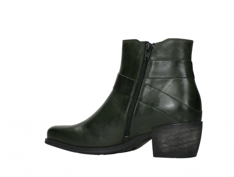 wolky ankle boots 02875 silio 30730 forest green leather_15