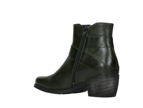 wolky ankle boots 02875 silio 30730 forest green leather_16