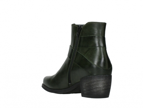 wolky ankle boots 02875 silio 30730 forest green leather_17