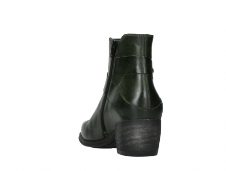wolky ankle boots 02875 silio 30730 forest green leather_18