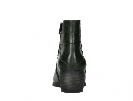 wolky ankle boots 02875 silio 30730 forest green leather_19
