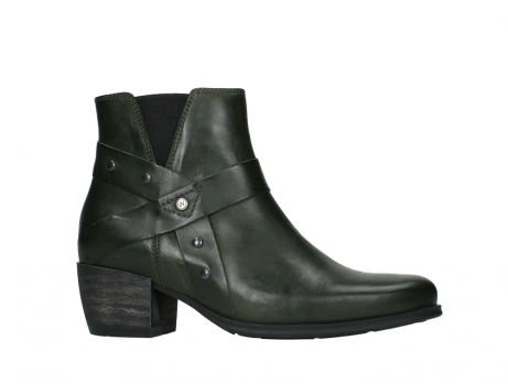 wolky ankle boots 02875 silio 30730 forest green leather_2