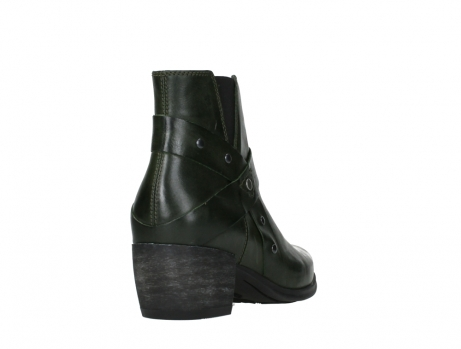 wolky ankle boots 02875 silio 30730 forest green leather_21
