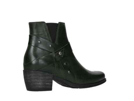 wolky ankle boots 02875 silio 30730 forest green leather_23