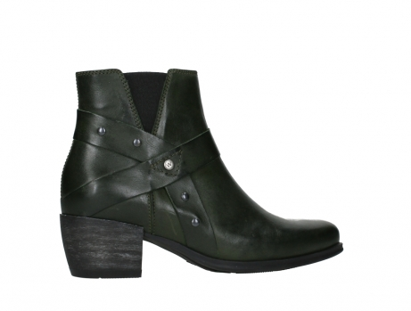 wolky ankle boots 02875 silio 30730 forest green leather_24
