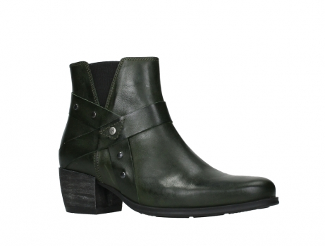 wolky ankle boots 02875 silio 30730 forest green leather_3