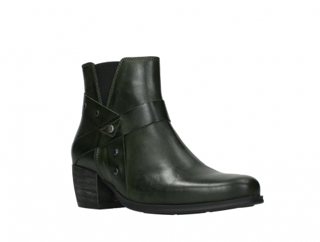 wolky ankle boots 02875 silio 30730 forest green leather_4