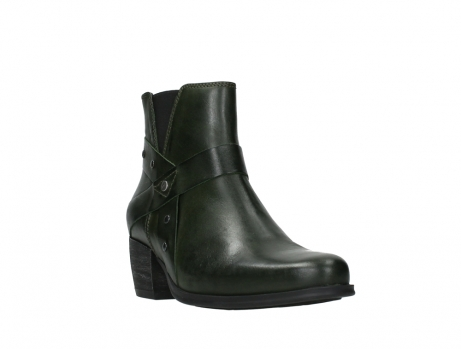wolky ankle boots 02875 silio 30730 forest green leather_5
