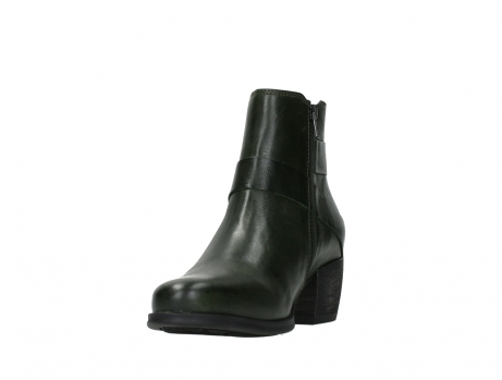 wolky ankle boots 02875 silio 30730 forest green leather_9