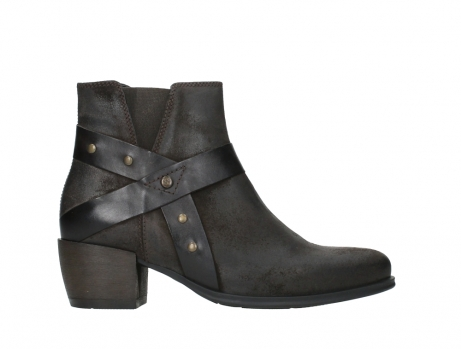 wolky ankle boots 02875 silio 45305 dark brown suede_1