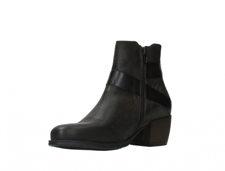 wolky ankle boots 02875 silio 45305 dark brown suede_10