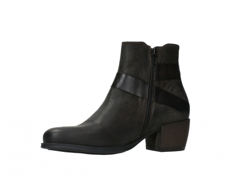 wolky ankle boots 02875 silio 45305 dark brown suede_11