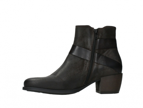 wolky ankle boots 02875 silio 45305 dark brown suede_12