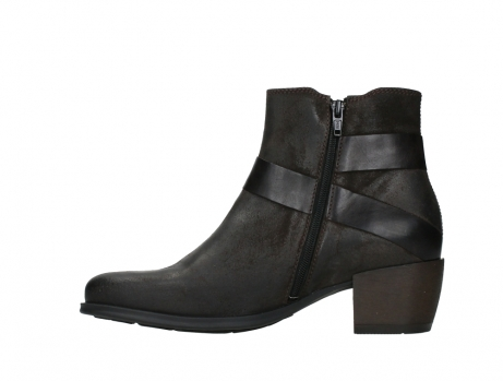 wolky ankle boots 02875 silio 45305 dark brown suede_13
