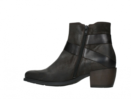 wolky ankle boots 02875 silio 45305 dark brown suede_14