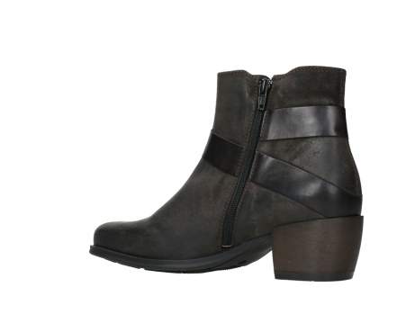 wolky ankle boots 02875 silio 45305 dark brown suede_15