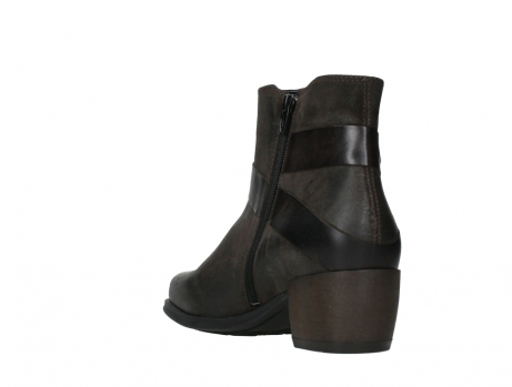 wolky ankle boots 02875 silio 45305 dark brown suede_17