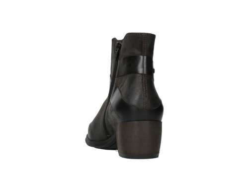 wolky ankle boots 02875 silio 45305 dark brown suede_18