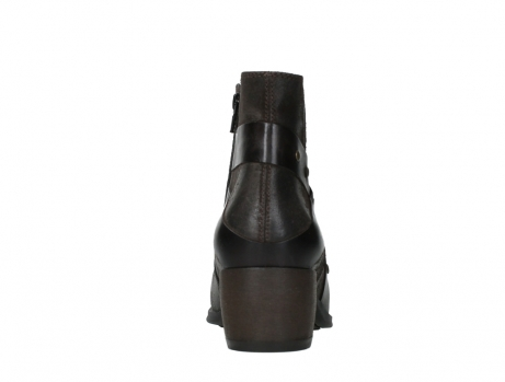 wolky ankle boots 02875 silio 45305 dark brown suede_19