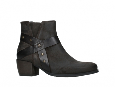 wolky ankle boots 02875 silio 45305 dark brown suede_2