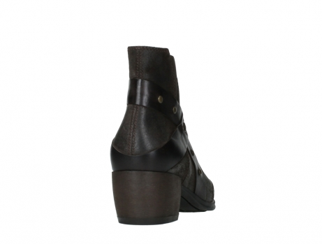 wolky ankle boots 02875 silio 45305 dark brown suede_20