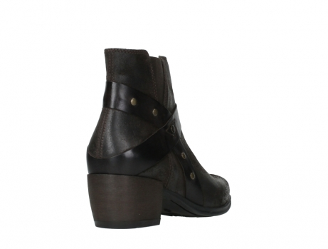 wolky ankle boots 02875 silio 45305 dark brown suede_21