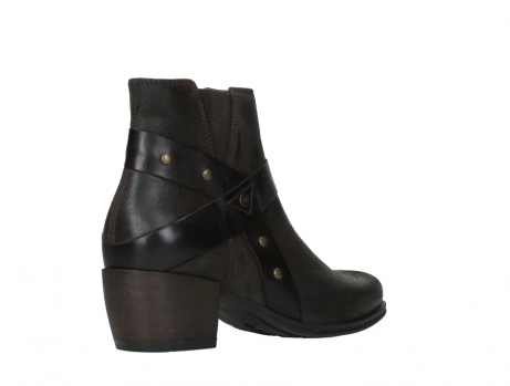 wolky ankle boots 02875 silio 45305 dark brown suede_22