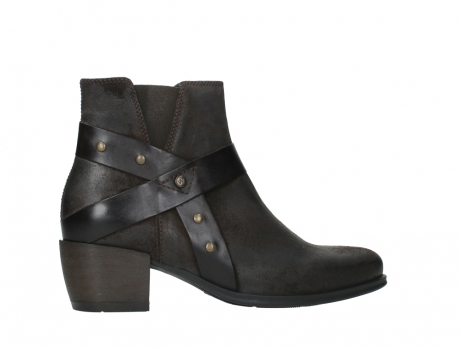 wolky ankle boots 02875 silio 45305 dark brown suede_24