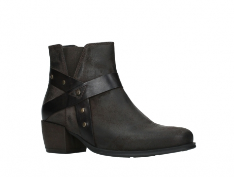 wolky ankle boots 02875 silio 45305 dark brown suede_3