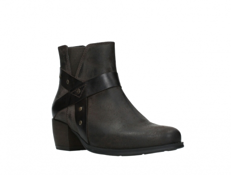 wolky ankle boots 02875 silio 45305 dark brown suede_4