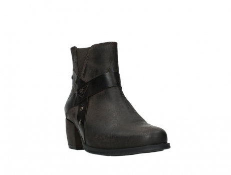 wolky ankle boots 02875 silio 45305 dark brown suede_5