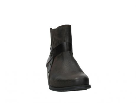 wolky ankle boots 02875 silio 45305 dark brown suede_6