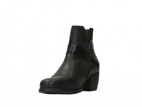 wolky ankle boots 02875 silio 45305 dark brown suede_9
