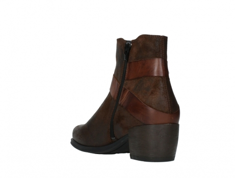 wolky ankle boots 02875 silio 45410 tobacco suede_17