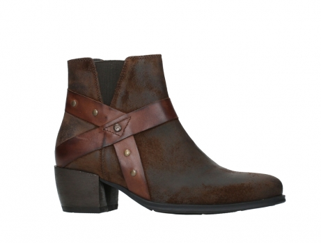 wolky ankle boots 02875 silio 45410 tobacco suede_2