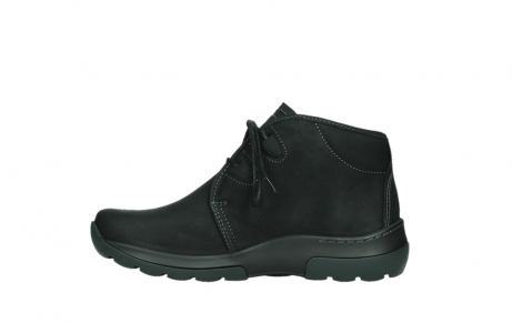 wolky lace up boots 03025 dub 11001 black nubuck_13