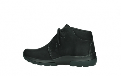 wolky lace up boots 03025 dub 11001 black nubuck_14