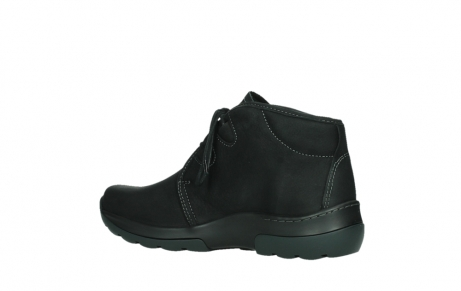 wolky lace up boots 03025 dub 11001 black nubuck_15