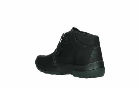 wolky lace up boots 03025 dub 11001 black nubuck_16