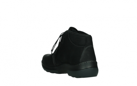 wolky lace up boots 03025 dub 11001 black nubuck_17