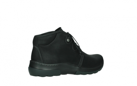 wolky lace up boots 03025 dub 11001 black nubuck_23