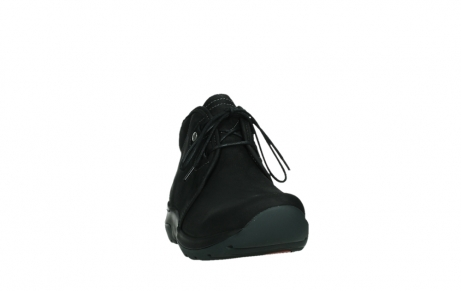 wolky lace up boots 03025 dub 11001 black nubuck_6