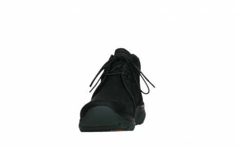 wolky lace up boots 03025 dub 11001 black nubuck_8