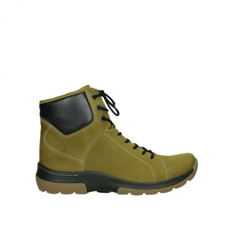 wolky lace up boots 03026 ambient 11940 mustard nubuckleather