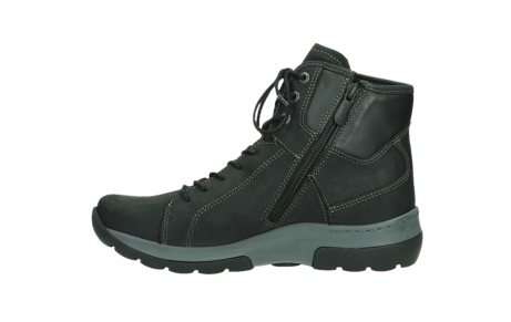 wolky lace up boots 03026 ambient 11000 black nubuck_13