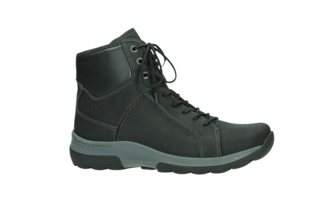 wolky lace up boots 03026 ambient 11000 black nubuck_2