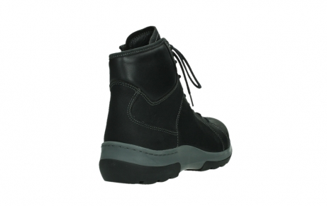 wolky lace up boots 03026 ambient 11000 black nubuck_21