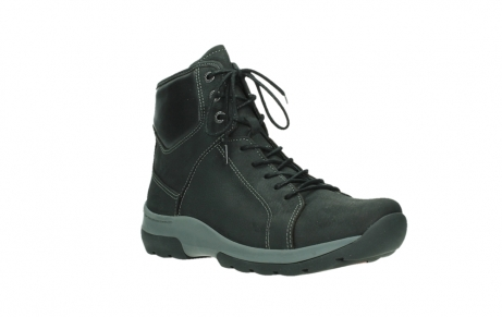 wolky lace up boots 03026 ambient 11000 black nubuck_4
