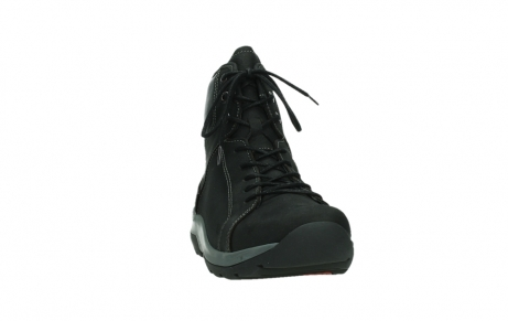 wolky lace up boots 03026 ambient 11000 black nubuck_6